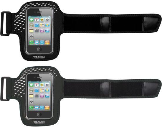 bol com avento smartphone sport armband zwart fluorrozeavento smartphone sport armband zwart fluorroze