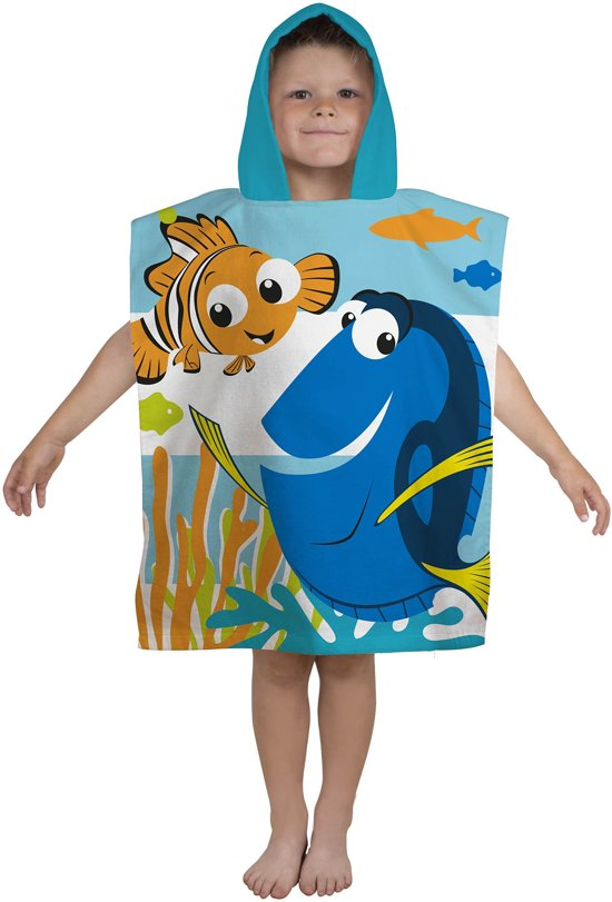 Finding Dory Dory  - Poncho - 50 x 115 cm - Multi