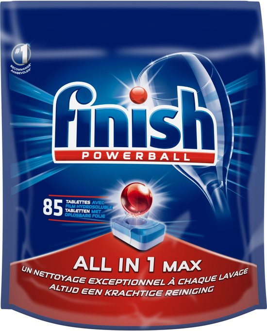 Finish All in 1 Regular - Vaatwastabletten - 85 tabs