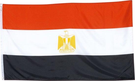 Trasal - vlag Egypte – egyptische vlag 150x90cm