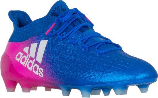 adidas Sportschoenen Maat 41 13 Mannen blauwrozewit