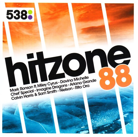 CD cover van 538 Hitzone 88 van various artists