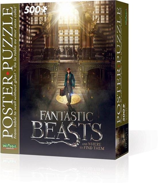 Wrebbit Poster Puzzle - Fantastic Beasts Macusa 500 stukjes