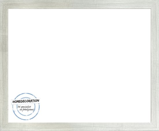 Homedecoration Misano – Fotolijst – Fotomaat – 23 x 89 cm  – White wash