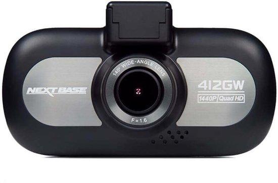 NextBase 412GW Quad HD Zwart, Zilver Wi-Fi
