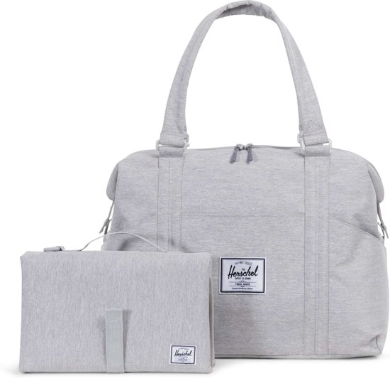 759d4c9aae947d bol.com | Herschel Supply Co. Strand Sprout Luiertas - Light Grey ...