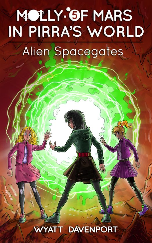 Molly of Mars in Pirra's World: Alien Spacegates