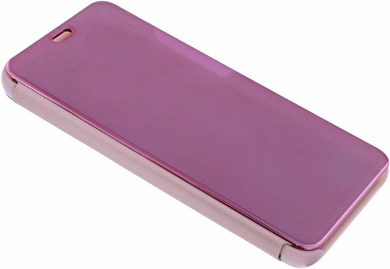 Rose Goud LED Flip Cover Hoesje voor Samsung Galaxy Note 9