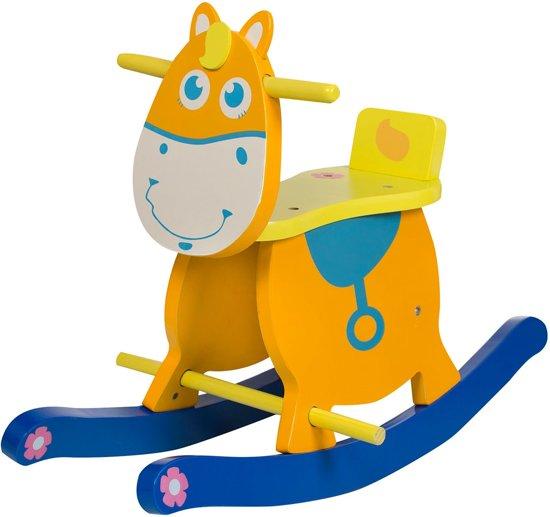 Hobbeldier Baninni Liam het Paard