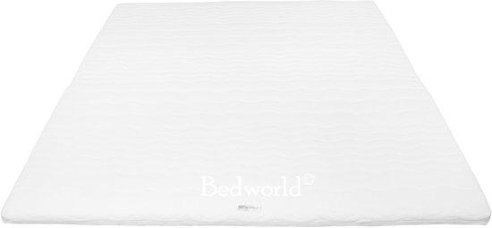 Bedworld Topper Oplegmatras - Koudschuim HR45 - 140x200 - 7 cm matrasdikte Medium ligcomfort