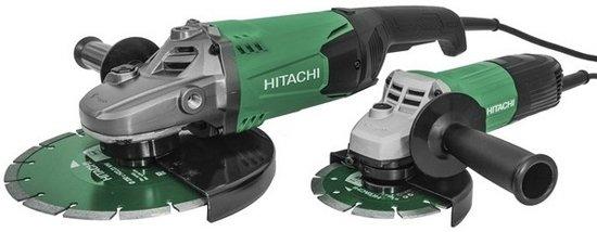 Hitachi Hikoki Slijpmachine set G23STBOX - 235 mm - 2.000 W I G13STA 125 mm - 600 W