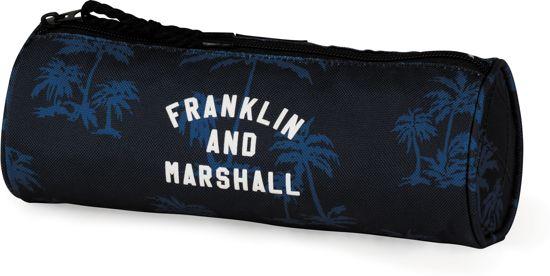 Etui Franklin M. Boys blauw 8 x 23 x 8 cm
