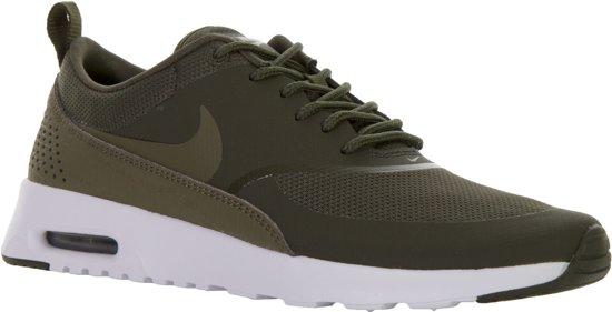 Nike Air Max Thea Sneakers Dames Sportschoenen Maat 40.5 Vrouwen zwart wit