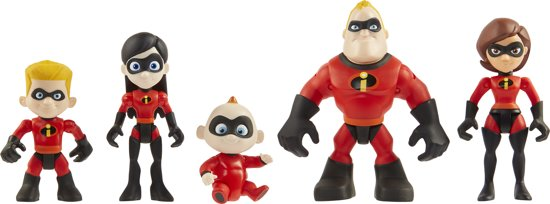 Incredibles 2: PRECOOL Figuren FAMILY - 7,5 cm