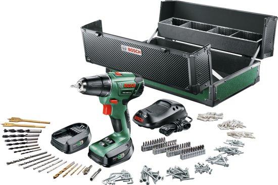 Bosch PSR 1440 LI-2 Accuboormachine - 14,4 V - met 241-delige toolbox
