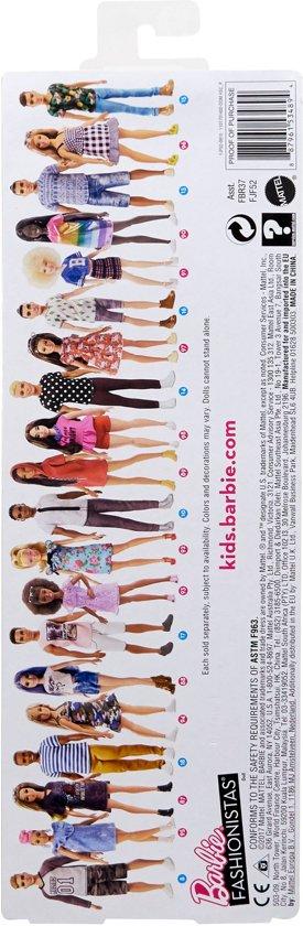 Barbie Fashionistas Met Bloemetjesjurk - Barbiepop