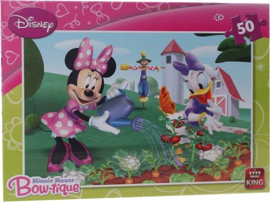 Bolcom King Legpuzzel Disney Minnie Mouse Bow Tique 50 Stukjes