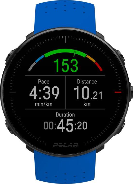Polar Vantage M - Multisport horloge - Blauw - M/L