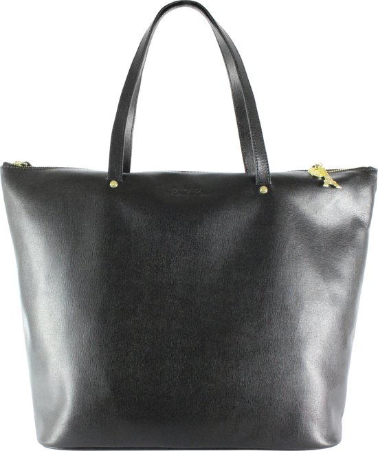 by LouLou -27BAG Elite Gold - Shopper - Zwart