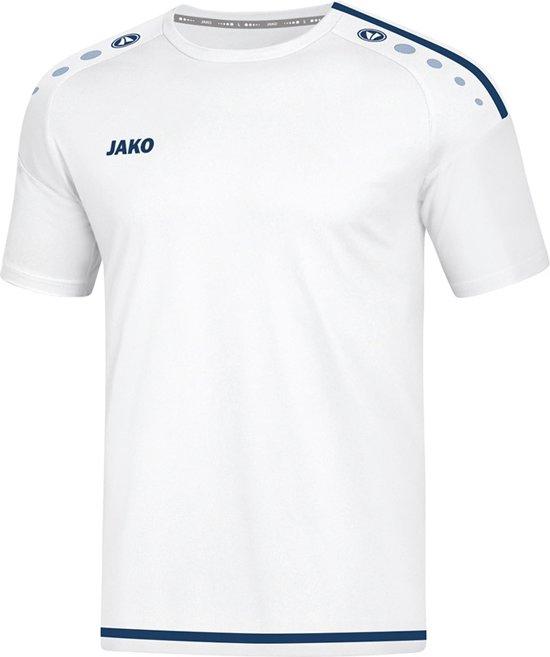 Jako Striker 2.0 Sportshirt - Voetbalshirts  - wit - 140