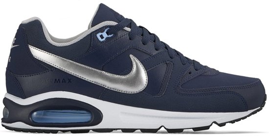 official photos c7a98 74411 bol.com | NIKE AIR MAX COMMAND LEATHER -NAVY-SILVER- 749760-401 - 48,5