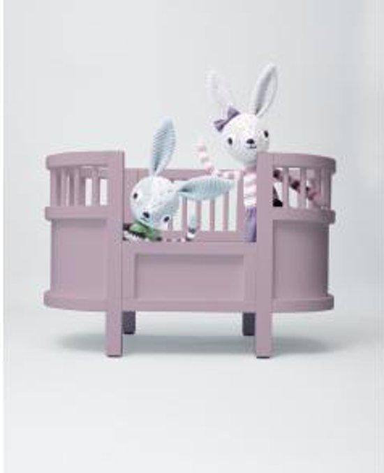 Fabulous bol.com | Sebra - Houten poppenbedje roze, Sebra | Speelgoed @CB07