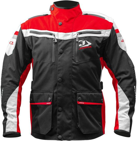 Jopa Enduro Jacket Iron Black-Red 4XL