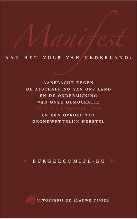 Manifest aan het volk van Nederland