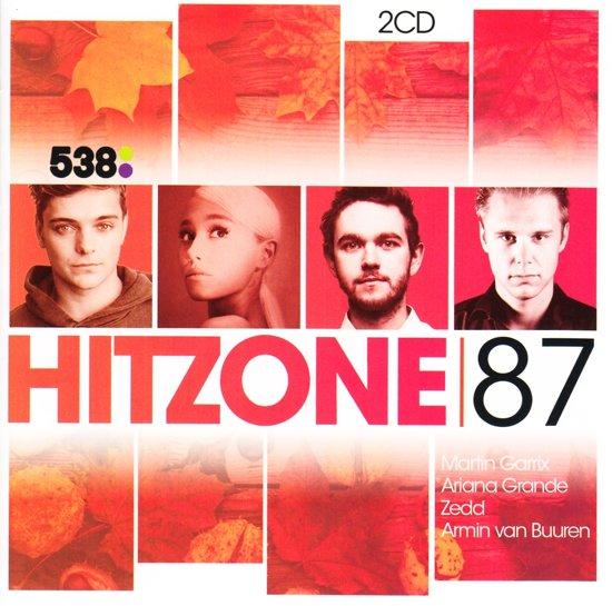 CD cover van 538 Hitzone 87 van Hitzone