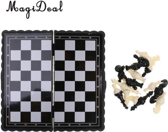 Mini schaakspel voor op reis   Schaken