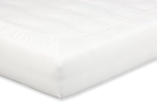 Beter Bed Select Perkal Hoeslaken voor Matras - 100% Luxe Katoen - 80/90 x 210/220 cm - Gebroken wit