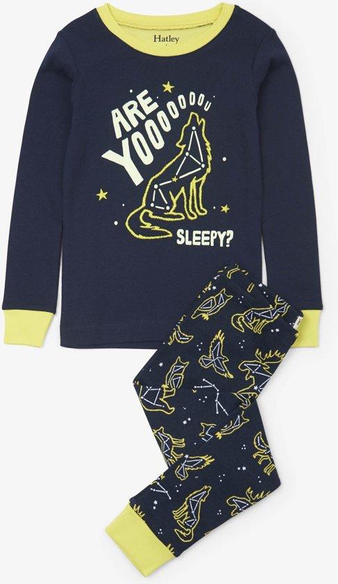 Hatley jongens 2-delige pyjama Wild Constellations