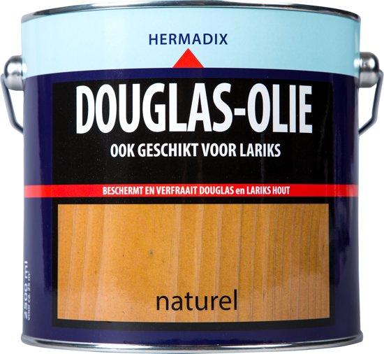 Hermadix Douglas Olie - Naturel - 2,5 liter