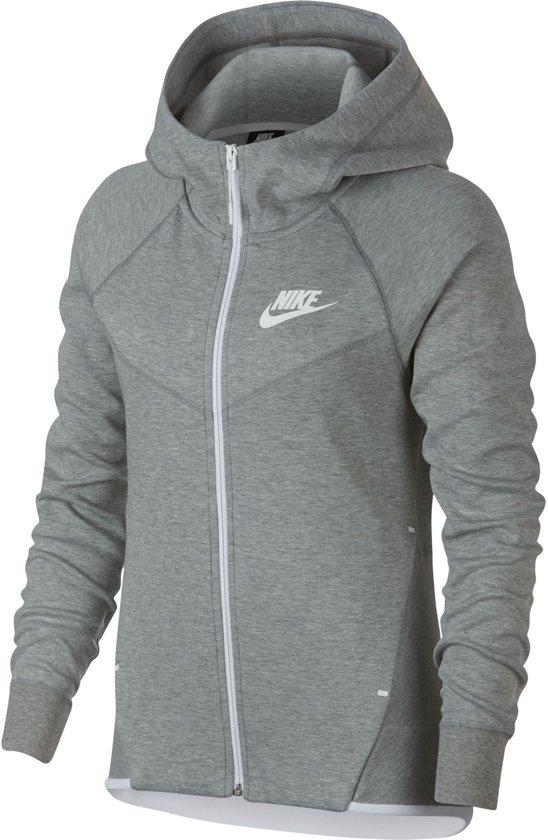 9722fea0158 Nike Sportswear Tech Fleece Windrunner Sweatvest Dames Sporttrui - Maat L  --CONVERTVolwassenenVolwassenen - grijs