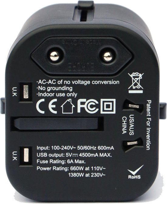 Travel Power Plug - 10 Christmas Gift Ideas for your travel buddy.