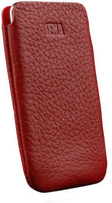 Sena UltraSlim Pouch iPod Touch 2G & 3G Lederen Sleeve Rood