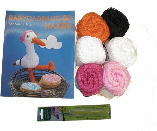 Bolcom Babycadeautjes Haken Haakpakket Roze Speelgoed