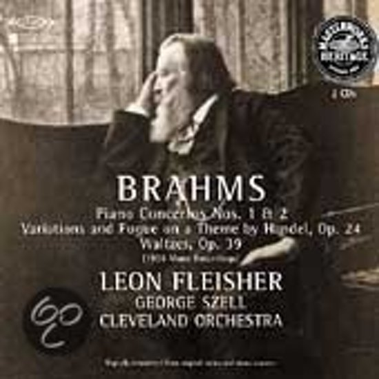 HERITAGE  Brahms: Piano Concertos no 1 & 2, etc / Fleisher