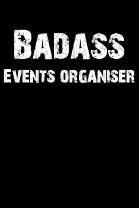 Badass Events Organiser: Blank Lined Journal (Diary, Notebook)