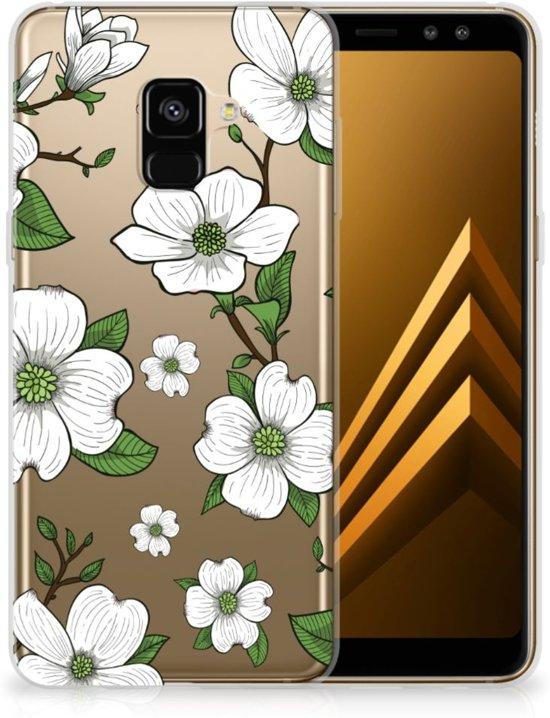 Samsung Galaxy A8 Plus (2018) TPU Case Dogwood Flowers