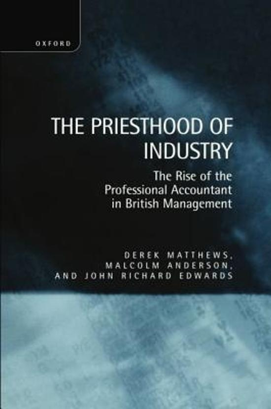 The Priesthood of Industry