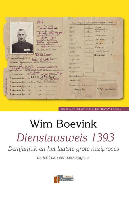 Verbum Holocaust Bibliotheek - Dienstausweis 1393