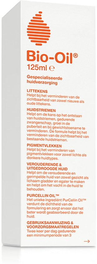 Bio Oil Specialistische Huidolie Bodyolie - 125ml