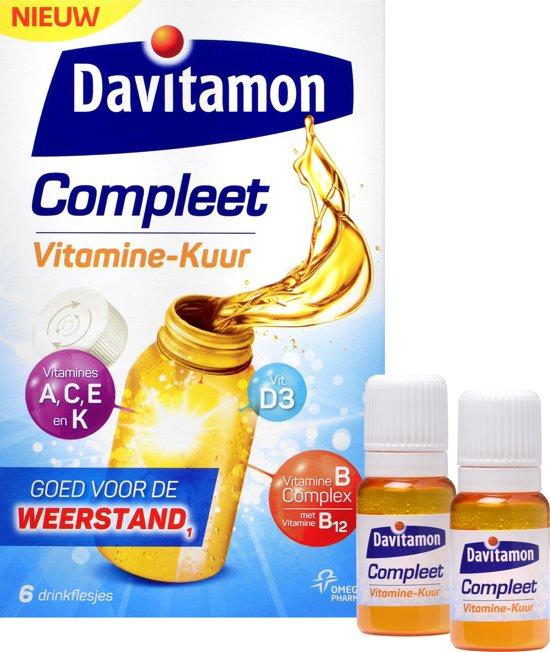 Davitamon Compleet Vitamine Kuur Voedingssupplement - 6 stuks