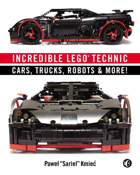 Boek cover Incredible LEGO Technic van Pawel Sariel Kmiec (Onbekend)