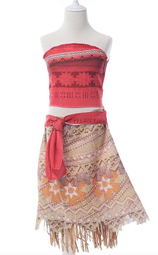 Vaiana jurk maat 140-146 Moana Prinsessen jurk (150) kostuum kind verkleedkleding