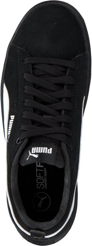 Dames Smash Sneakers White Maat Black Puma Platform 38 5 Sd HIFOw