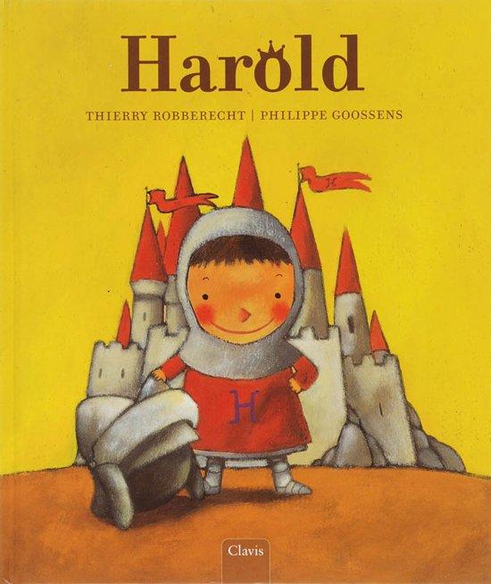 Cover van het boek 'Harold' van Thierry Robberecht