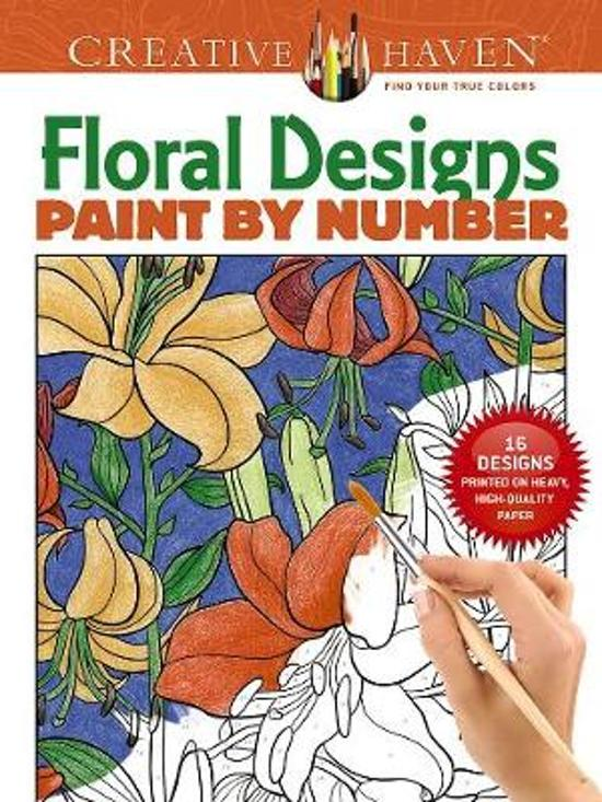 Bolcom Creative Haven Floral Design Paint By Number Jessica