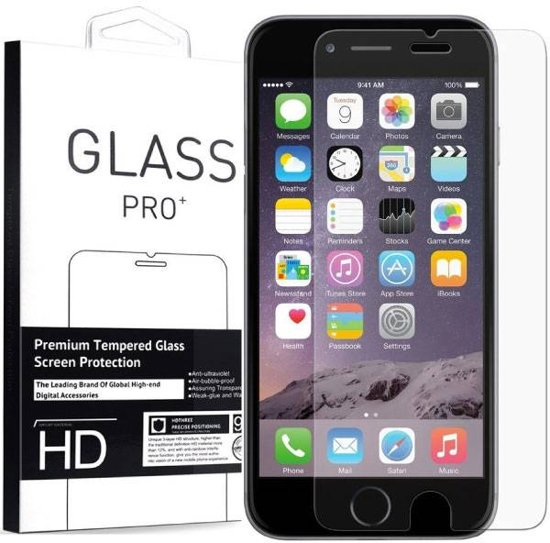 iPhone 6/6S Plus Tempered Glass Screenprotector in Bettincourt